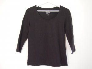 Authentic Longsleeve black cotton