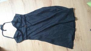 schwarzes Hallhuber Sommerkleid