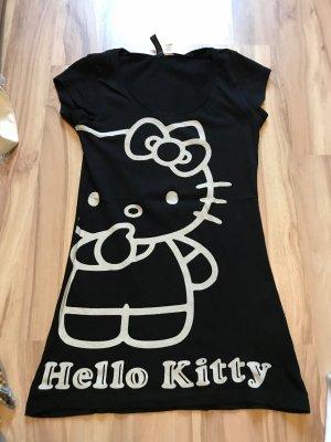 schwarzes Hallo Kitty T-Shirt von H&M Größe 34 XS 36 S Shirt Oberteil