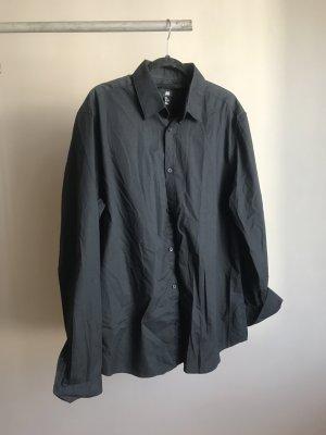 H&M Camicia a maniche lunghe nero