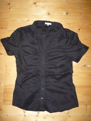 Schwarzes Hemd kurzärmelig