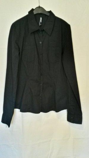 Colours of the World Camicia a maniche lunghe nero Cotone
