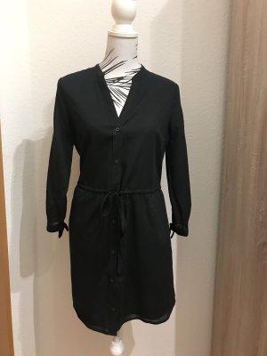 Schwarzes Hemdkleid Abercrombie & Fitch