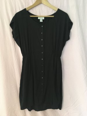 Schwarzes Hemdkleid von Monki