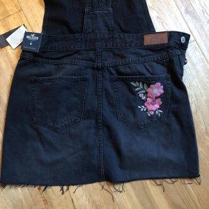 Hollister Vestido vaquero negro-rosa