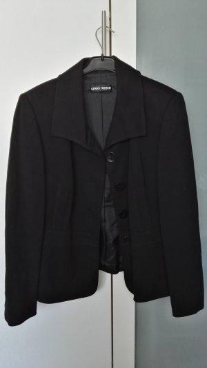 schwarzes Jacket