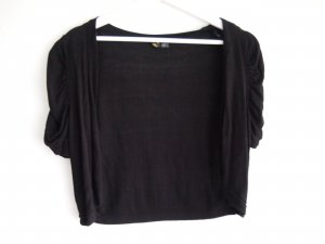 H&M Divided Bolero black viscose