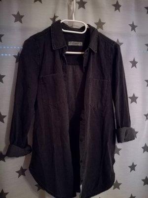 schwarzes Jeans Hemd