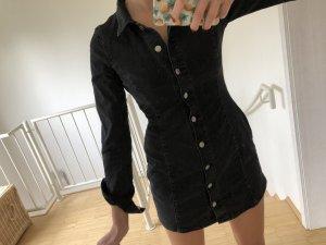 Schwarzes Jeanskleid