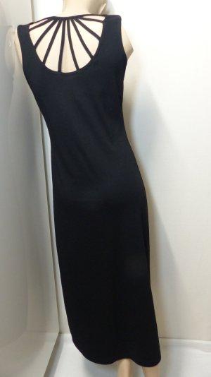 schwarzes Jerseykleid, Gr. 34/36