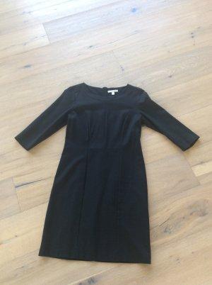 Schwarzes Jerseykleid - Größe L