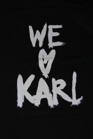 Schwarzes Karl Lagerfeld T- Shirt Gr.L