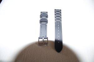 schwarzes Kautschuk-Uhrenband von Fossil