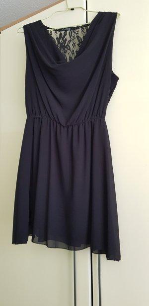 Colloseum Chiffon jurk zwart