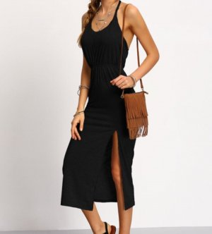 Beach Dress black