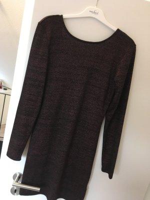 Takko Longsleeve Dress black-purple