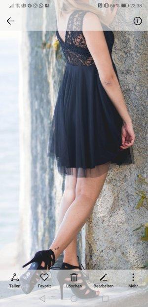 Off the shoulder jurk zwart