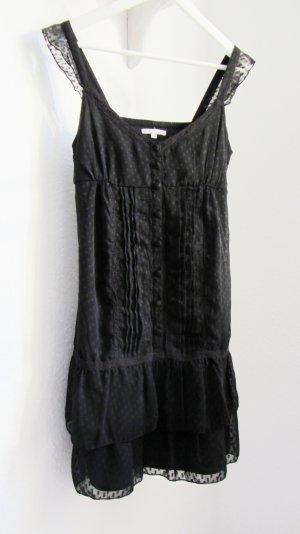 Schwarzes Kleid Abendkleid Sommerkleid // 3 Suisses