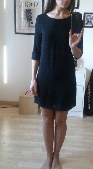 Schwarzes Kleid Damen gerader Schnitt Größe S