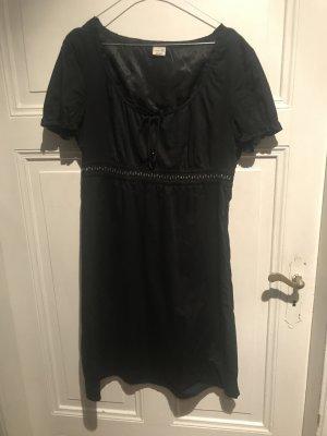 Schwarzes Kleid Esprit
