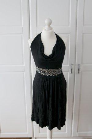 Schwarzes Kleid Esprit Neckholder NEU