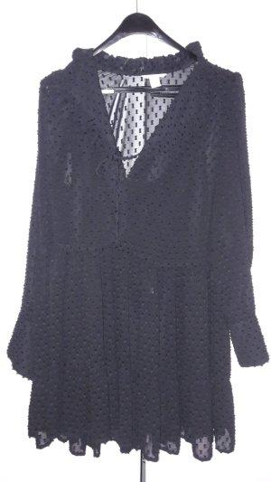 Schwarzes Kleid, Größe 42 von H&M