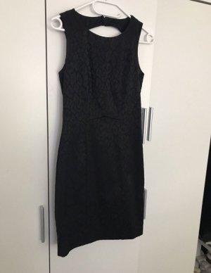 H&M Kokerjurk zwart