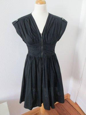 schwarzes Kleid H&M mit Reißverschluss Gr. 36