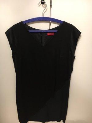 Schwarzes Kleid Hugo Boss