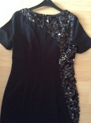 Schwarzes Kleid in 36/38 mit Pailletten Marke Coast