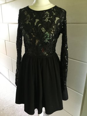 Schwarzes Kleid in XS