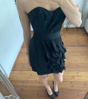 Schwarzes Kleid Karen Millen S/ XS