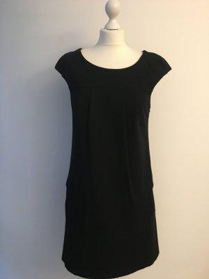 Schwarzes Kleid Kurzarm in A-Linie, SANDRA PABST, Gr. 38