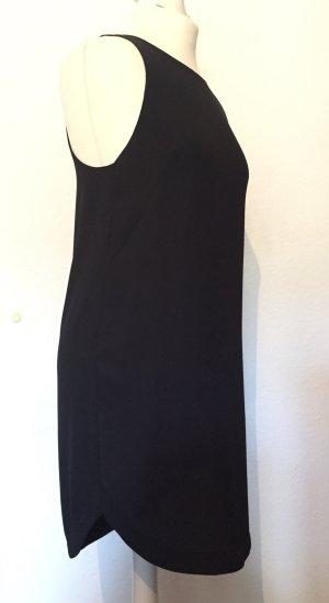 Schwarzes Kleid / Longtop aus edlem Stoff NEU