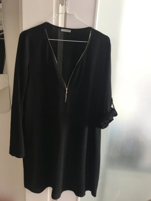 Schwarzes Kleid Luftige Tunika