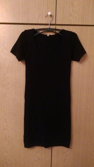 schwarzes Kleid - Mango