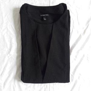 schwarzes Kleid MANGO L