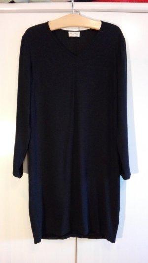 Schwarzes Kleid, Midi,  Viscose, 40