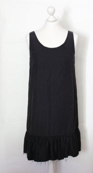 Schwarzes Kleid mit ausgefransten Volants von COS *neu*