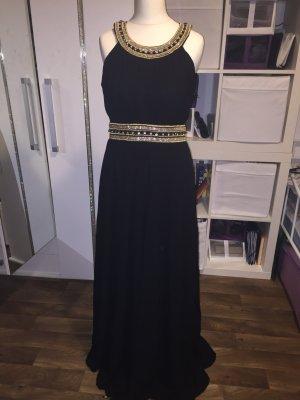 Blau schwarzes kleid streit