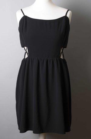 Schwarzes Kleid mit Cutouts NEU