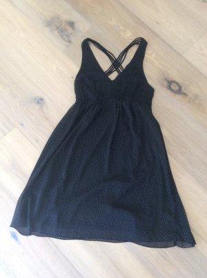 Vero Moda Chiffon Dress black-natural white