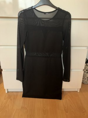 H&M Divided Abito cut out nero