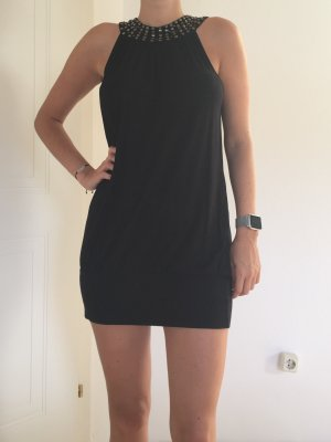 Blanco Dress black-dark grey viscose