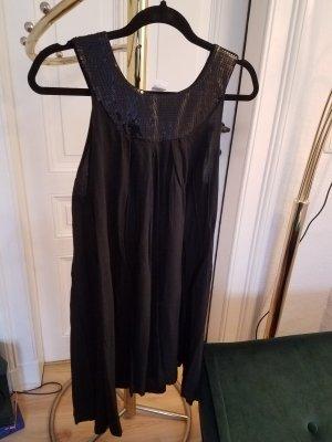 Schwarzes Kleid mit Pailetten elegant Abendkleid