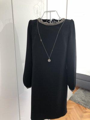 Hallhuber Robe trapèze noir