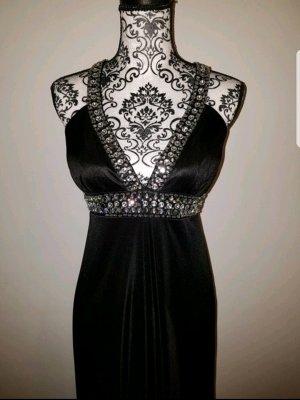 Schwarzes Kleid mit Steine