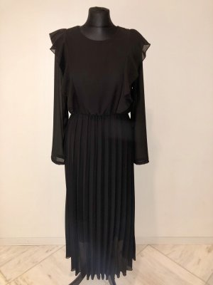 Made in Italy Robe chiffon noir