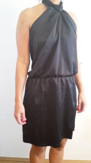 Schwarzes Kleid, rückenfrei, Gr. 36