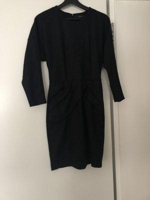 SET Urban Deluxe Robe en laine noir